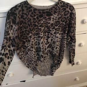LF Millau leopard print sweater