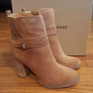 Lucky Brand Honey Leather Booties