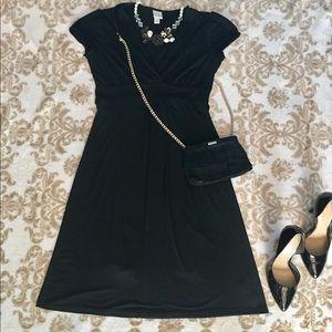 Mid Length Tie-Back Dress