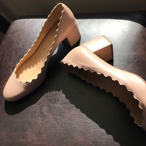 SALE 🔥🔥🔥AUTHENTIC Chloe heels in nude size 36