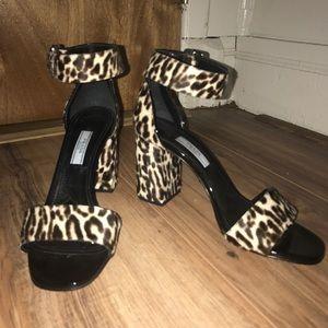 Prada Cheetah Print Heels