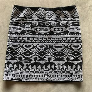 Urban Outfitters Aztec Skirt