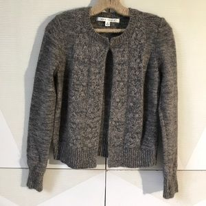 Max Studio angora blend cardigan sweater S