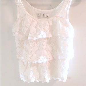 🌺 Abercrombie Lace Girls Tank 🌺