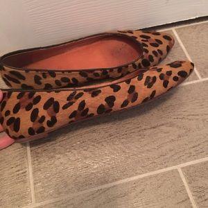 Madewell leopard flats