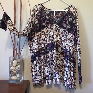 Free people high low Top Sz small