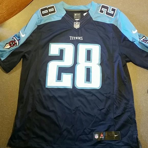 NFL Titan #28 Chris Johnson jersey