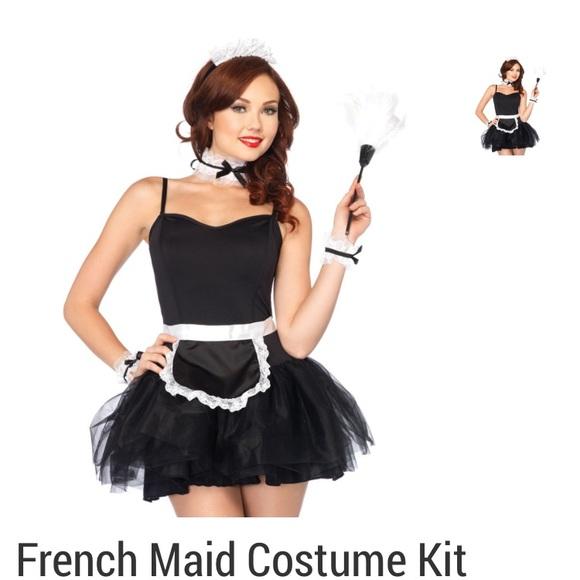 French maid bbw