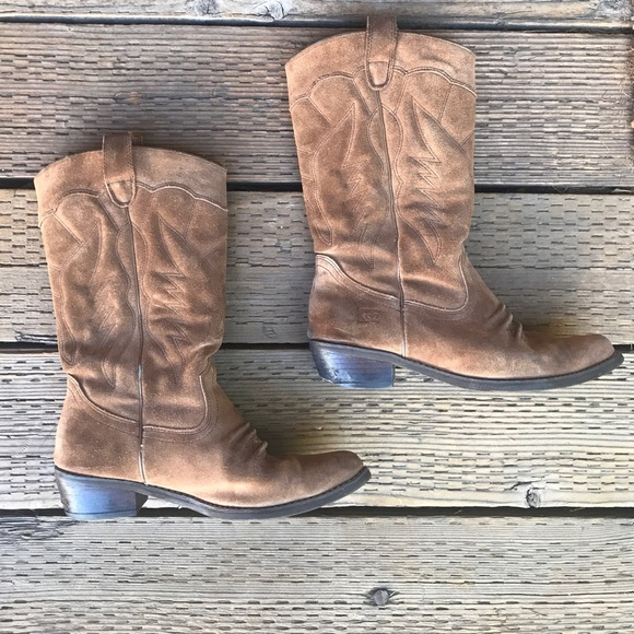 ba77325d71c Roxy Giddy Up Western boots cowboy suede country. M 59e4f218f0137dc4f50c9102