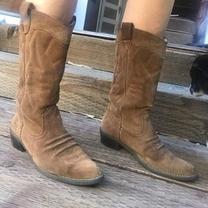 d49661075d6 Roxy Shoes - Roxy Giddy Up Western boots cowboy suede country