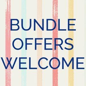 Other - Make a bundle!  Get a deal!