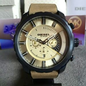 Brand new Diesel Taupe dial Men's watch