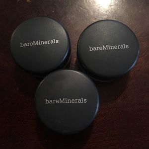 There bare mineral eyeshadows