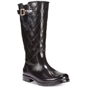 Sperry Women's Pelican Tall Quilted Rainboots