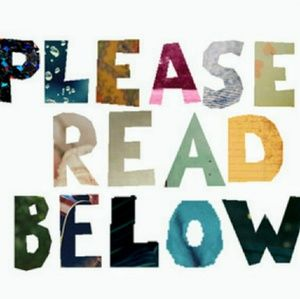 Please Read Carefully for Maximum Closet Enjoyment