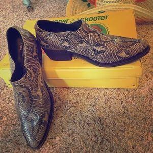 Jeffery Campbell snake mules