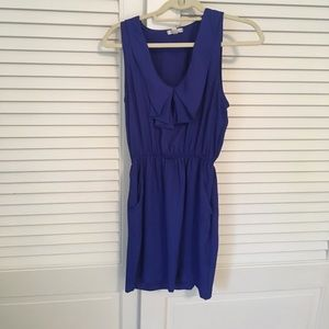 Women's Silence and Noise Indigo Dress