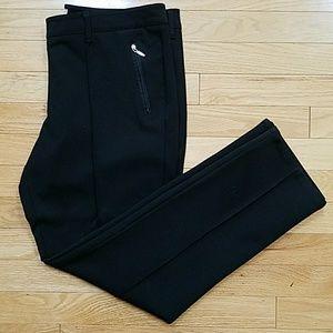 New York and Company Black Pants Zipper Pocket