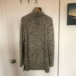 new zara long sweater
