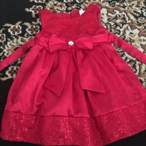 Red dress! Perfect for the holidays!