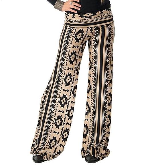 Charlotte Russe Pants - Aztec polazzo pants