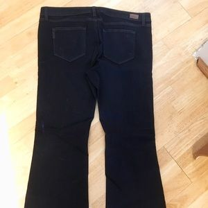 Paige Skyline Boot Petite Maternity Jeans, Size 33