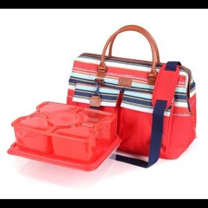 Other - Insulated Satchel bag with containers.