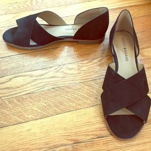 NEW Lucky Brand Black Galleh Flats 7.5