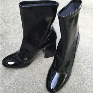 Zara Patent Boots