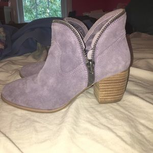 Ankle heeled booties