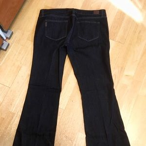 Paige Skyline Boot Maternity Jeans, Size 32