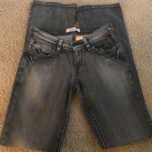 Levi's 572 bootcut jeans sz 27x32