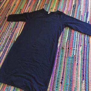 Merona Navy Sweater Dress