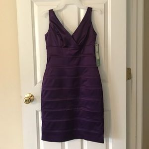 American Living purple party dress