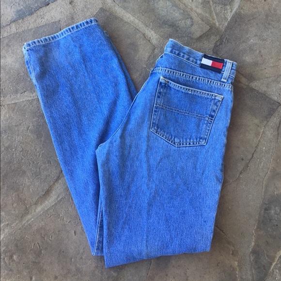 0ae0aa0b9 Tommy Hilfiger Jeans   High Waist Mom Vintage   Poshmark