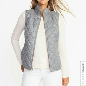 NWT Old Navy Textured Quilted Vest, size