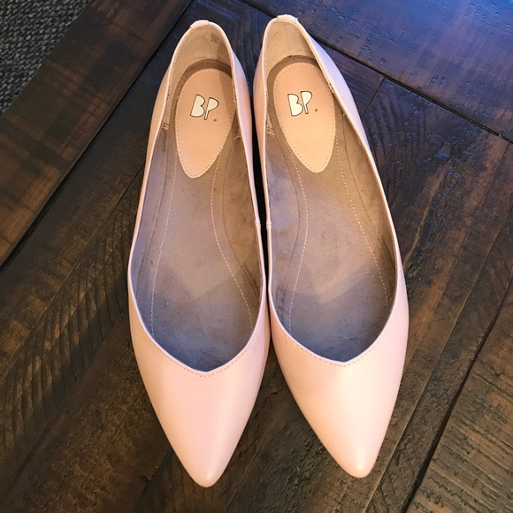 709eeb7bbeb bp Shoes - BP flats blush nude vegan leather