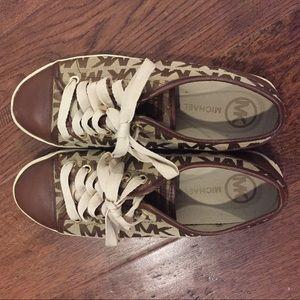 Michael Kors tennis shoes (size 7)