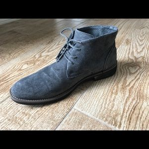 Other - Gray suede boots