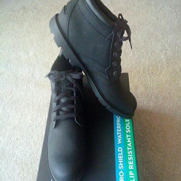 Mens Rockport Ss Plain Toe Boot 85