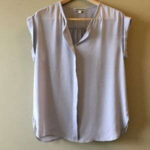 Pleione light gray dolman tunic