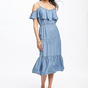 NWOT Old Navy Chambray Dress