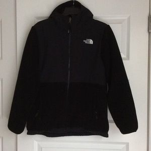 Hooded North Face fleece