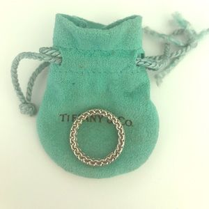Beautiful Tiffany and Co Mesh Ring 5