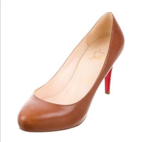 0d4312dd0e7505 Christian Louboutin Shoes - Christian louboutin camel declic