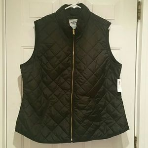 NWT Old Navy Textured Quilted Vest