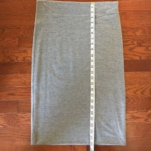 Loft Pencil Skirt in Grey