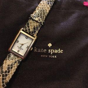 Kate Spade Snake Skin Watch