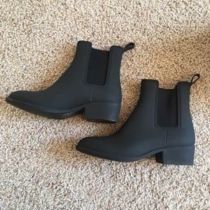 Jeffrey Campbell rain booties