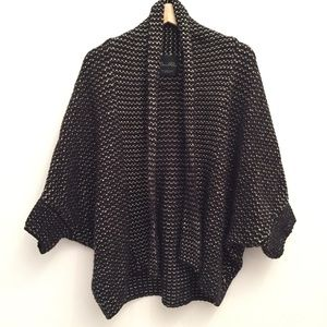 ZARA Knit Oversized Cozy Sweater Cardigan EUC M